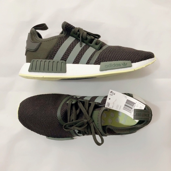 new styles c1b21 6ebce Adidas NMD R1 NIGHT CARGO   BASE GREEN   SE Size12